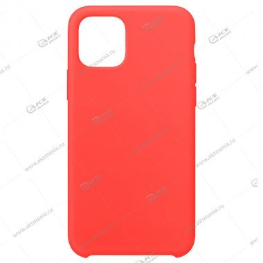 Silicone Case (Soft Touch) для iPhone 11 Pro коралловый