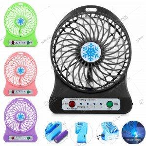 Вентилятор настольный Mini Fan QF-A1 АКБ 18650