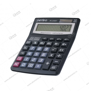Калькулятор Perfeo PF_A4027, бухгалтерский, 12-разр., GT, черный