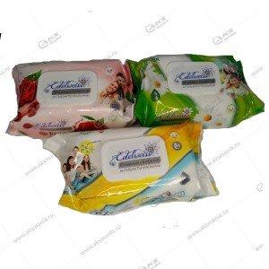 Салфетки влажные антибактериальные, 120шт, парфюм