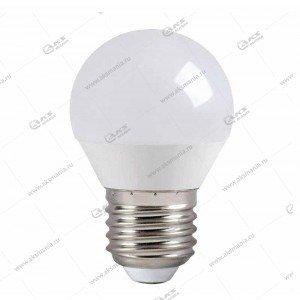 Лампа светодиодная Smartbuy G45-7W-220V-3000K-E27 (глоб, теплый свет)