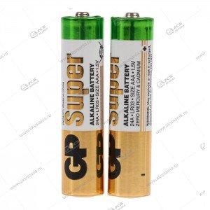 Элемент питания GP AAA LR03/2SH Super