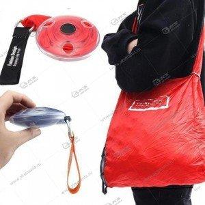 Сумка ультратонкая складная для шоппинга красная