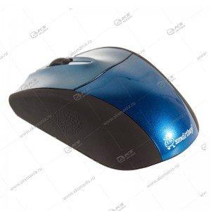 Мышь беспроводная Smartbuy SBM-325AG синяя