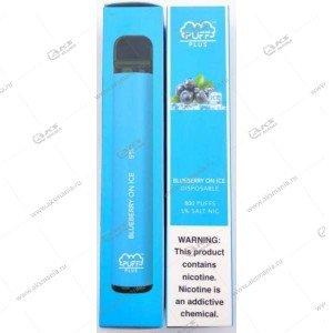 Электронная одноразовая сигарета Puff Plus 2% 800 затяжек Ледянная черника