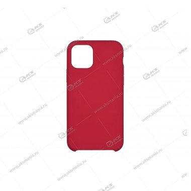 Silicone Case (Soft Touch) для iPhone 11 Pro малиновый