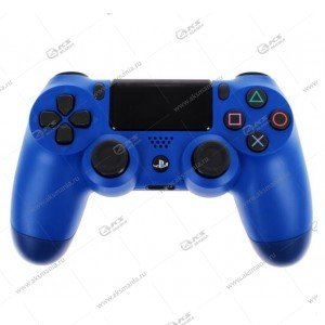 Gamepad PS4 Dualshock 4 wireless стальной синий