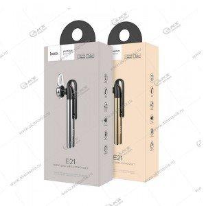 Bluetooth гарнитура Hoco E21 золотой