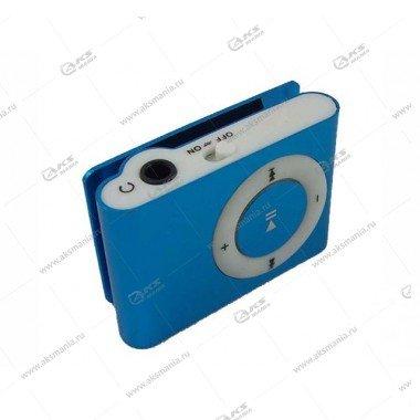 MP3-плеер клипса голубой