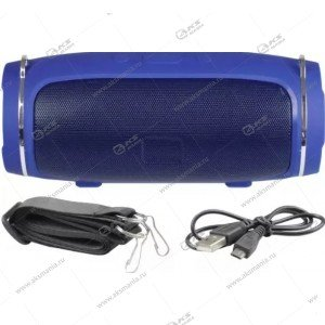 Колонка портативная Charge Mini 4+ BT TF FM синий