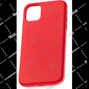 Silicone Case (Soft Touch)  для iPhone X/XS красный