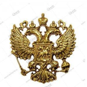"""Наклейка """"Герб"""" металл (на чехол, сумку, ежедневник и др), бронза"""