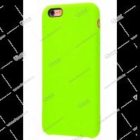Silicone Case для iPhone 6/6S оригинал ярко-зеленый