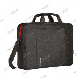 "Сумка Defender для ноутбука Geek 15,6"", полиэстер, черная, карман"