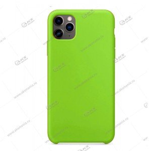 Silicone Case (Soft Touch) для iPhone 11 Pro Max зеленый
