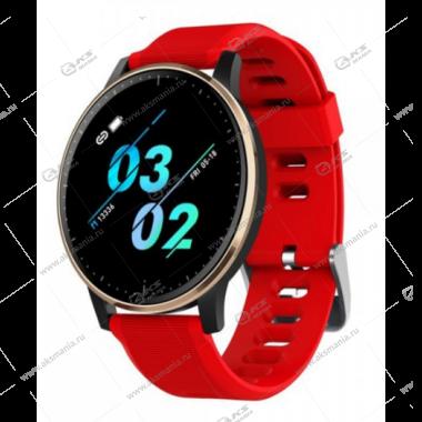 Smart Bracelet Q20 Шагомер Пульсометр красный