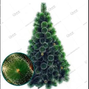 Ёлка искусственная 210см зелёная (Сосна) высокое качество
