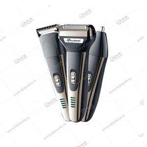 Машинка для стрижки волос 3в1 Gemei GM-598