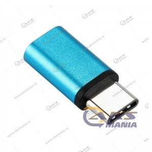 Переходник Micro USB-Type-C металл
