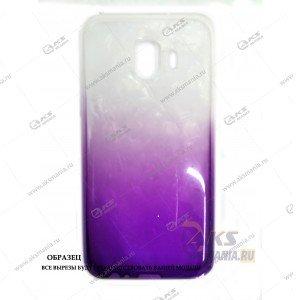 Силикон Samsung J260/J2 Core перламут 2в1 фиолетовый
