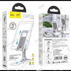 Держатель настольный Hoco PH29A для телефона или планшета 4.7-10'' белый