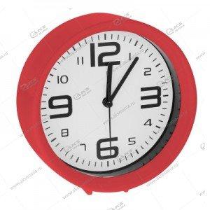 Часы 1002 будильник красный