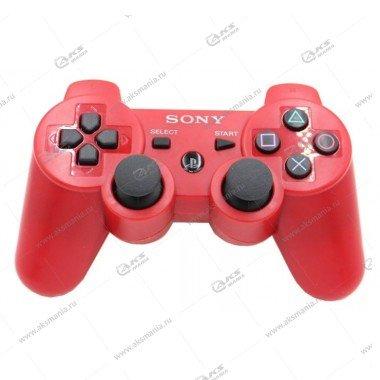 Gamepad PS3 Dualshock 3 wireless красный