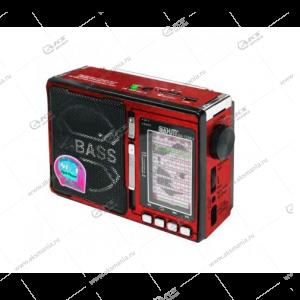 Колонка портативная BaHm BA-1338U FM TF USB красный
