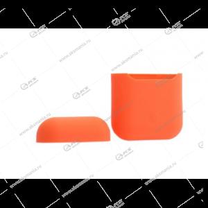 Силиконовый чехол для AirPods Case Protection оранжевый