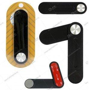 Держатель магнитный для смартфонов на ноутбук ML17 Black