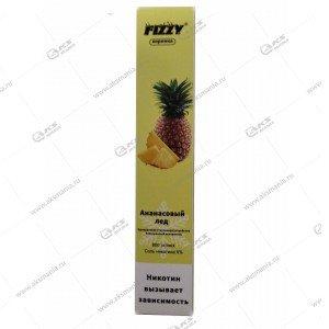 Электронная одноразовая сигарета Fizzy Coronka 2% 800 затяжек Ананас с холодком