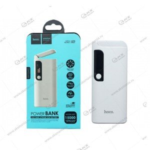 Power Bank HOCO B27 15000mAh белый