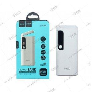 Power Bank HOCO B27 15000mAh белый