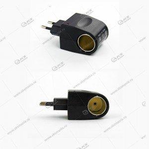 Автомобильный преобразователь 12 вольт на 220 вольт-1Ампер