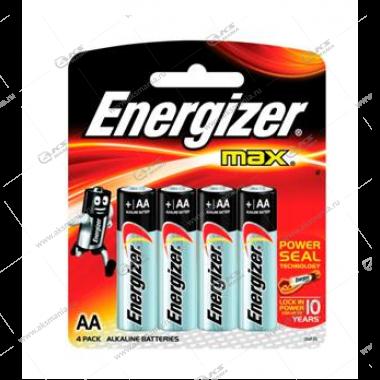 Элемент питания Energizer AA LR6 Max/4BL