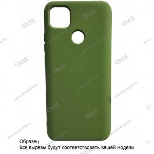 Silicone Case (Soft Touch) для iPhone 12 mini хаки