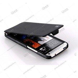 Книга вертикал HTC One Mini M4 черн Hoco