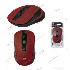 Мышь беспроводная Defender MM-605 красная