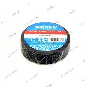 Изолента Smartbuy 0.13 x 15мм, 20 метров, черная (SBE-IT-15-20-b)