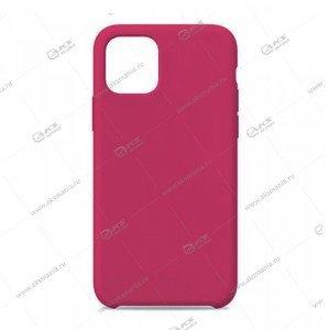 Silicone Case для iPhone 11 Pro Max малиновый
