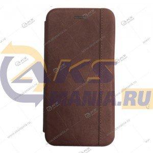 Книга горизонтальная Huawei Honor 20 коричневый Nice Case