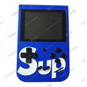Карманная портативная игровая приставка Sup Game box 400in1 синий