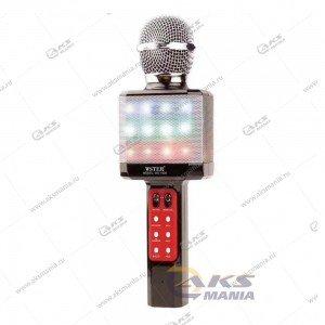 Беспроводной караоке микрофон WS-1828 черный