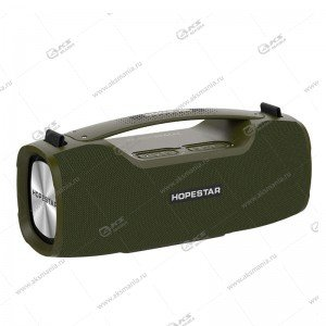Колонка портативная HOPESTAR A6 Pro зеленый