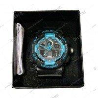 Наручные часы WEODE водонепроницаемые  черно-синие