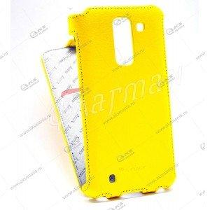 Книга Armor Samsung G310 желтый