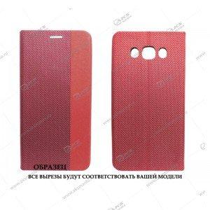 Книга горизонтальная Huawei Honor 10 красный D-Case