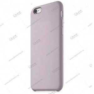 Silicone Case (Soft Touch) для iPhone 6/6S Plus пурпурно-серый