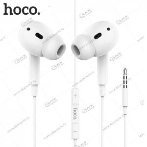 Наушники Hoco M1 Pro с микрофоном белый
