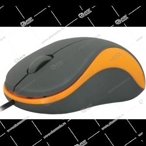 Мышь проводная Defender Accura MS-970 серая/оранжевая